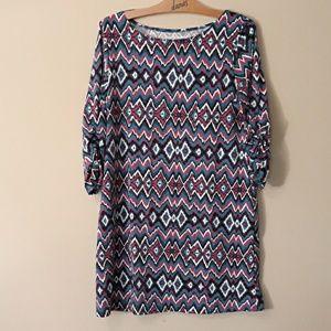 Soybu Like New Fun Print Dress/Tunic Size XL
